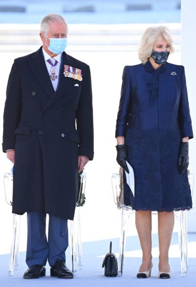 Prince Charles and Camilla in Greece