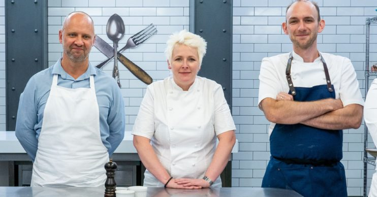Lisa Goodwin-Allen judges on Great British Menu (Credit: BBC Two)