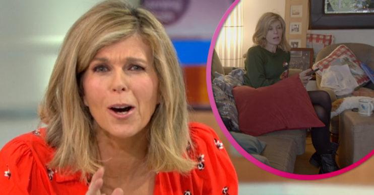 Kate Garraway defends 'untidy' house