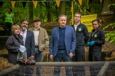 Midsomer Murders: With Baited Breath stars Nitin Ganatra as Ned Skye (Credit: ITV1)