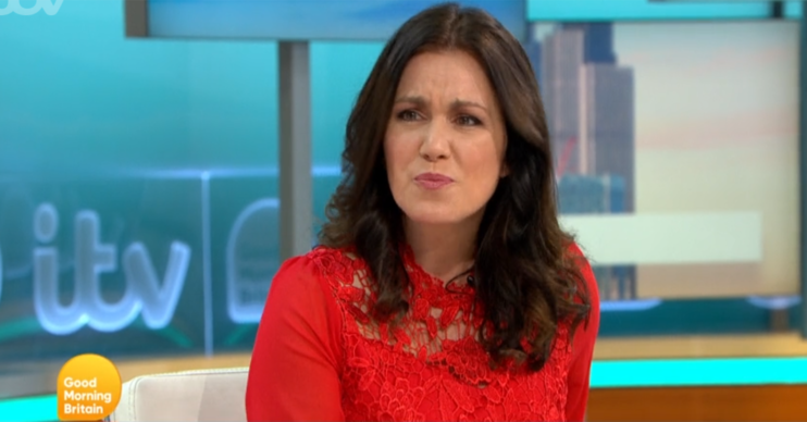 Susanna Reid discusses weight gain on GMB