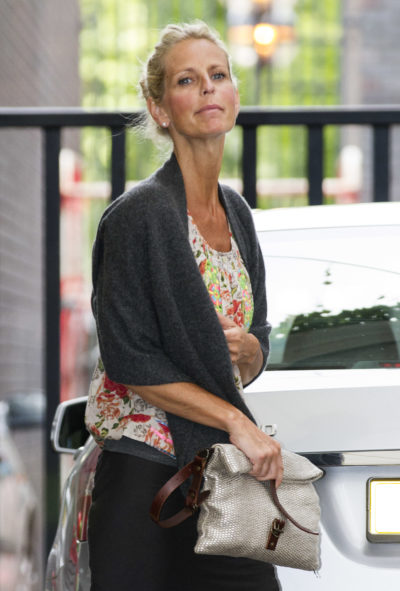 Ulrika Jonsson out and about