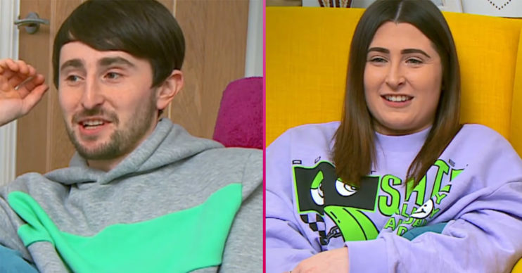 Pete and Sophie Sandiford on gogglebox