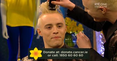 Jedward shave off hair