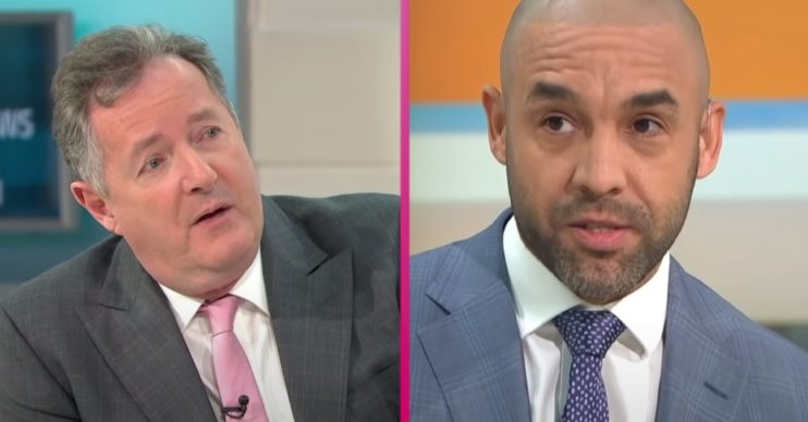 Piers Morgan slams Alex Beresford