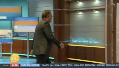 Piers Morgan stormed off the GMB set