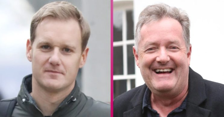 Dan Walker and Piers morgan