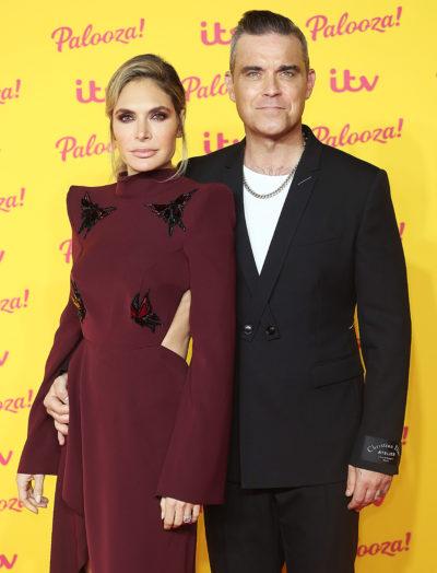 Ayda Field showed Robbie Williams yanking off her toenail