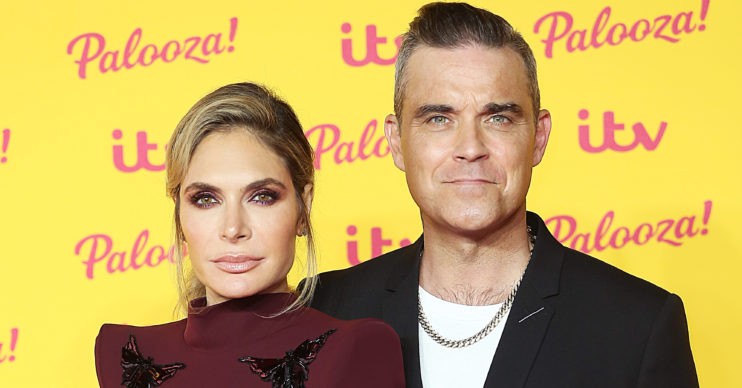 Ayda Field showed Robbie Williams yanking off her toenail
