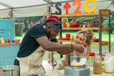 KSI and Jade compete to become Star Baker (Credit: Channel 4)