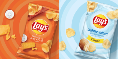 Walkers crisps are called Lay's in different countries
