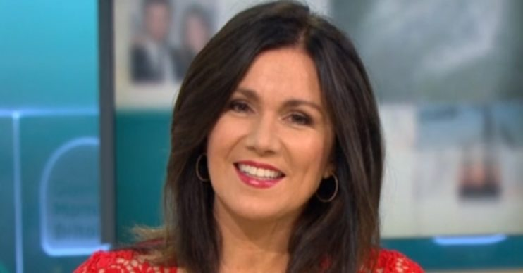 Susanna Reid GMB break