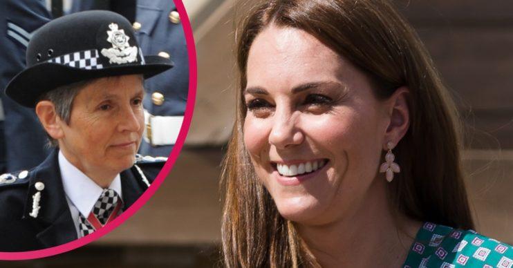 Cressida Dick and Kate Middleton