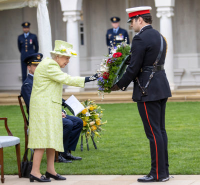 The Queen royal engagement