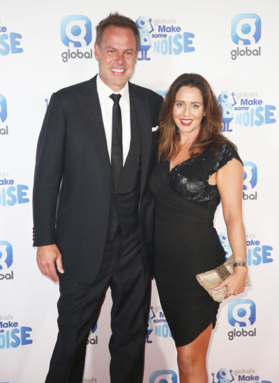 Peter Jones and partner Tara Capp