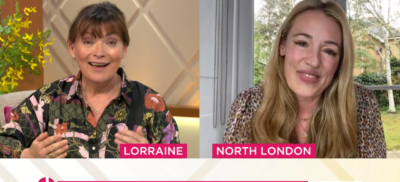 Cat Deeley on Lorraine