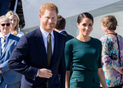 prince harry and meghan markle at a royal engagement