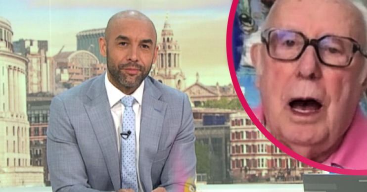 Alex Beresford made a One Foot In The Grave blunder on GMB