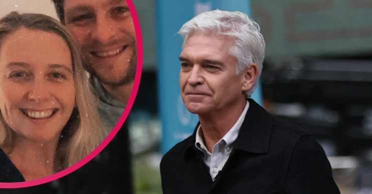 Phillip Schofield and Molly