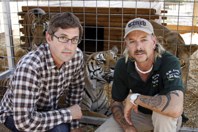 Louie Theroux and Joe Exotic
