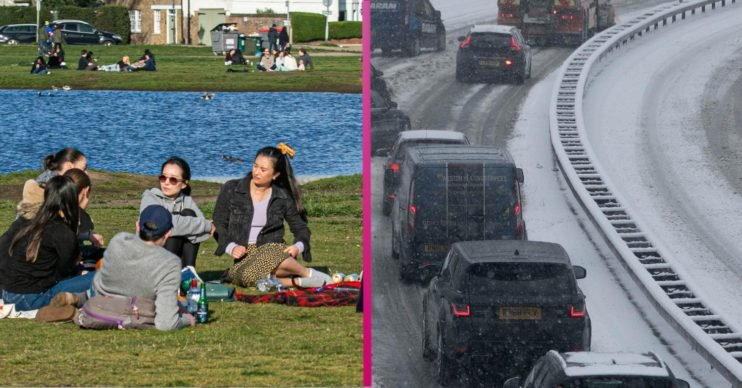 UK weather set to drastically change