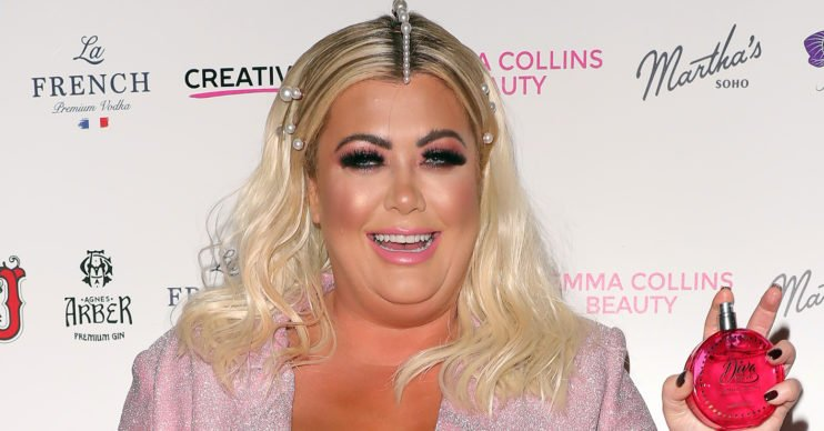 Gemma Collins has become a horse mummy