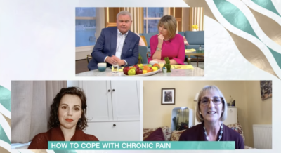eamonn discussed his chronic pain on This Morning