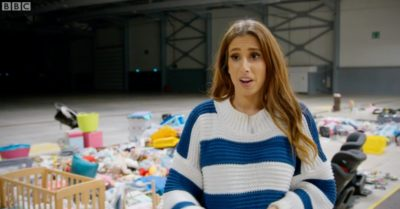 Stacey Solomon on Sort Your Life Out