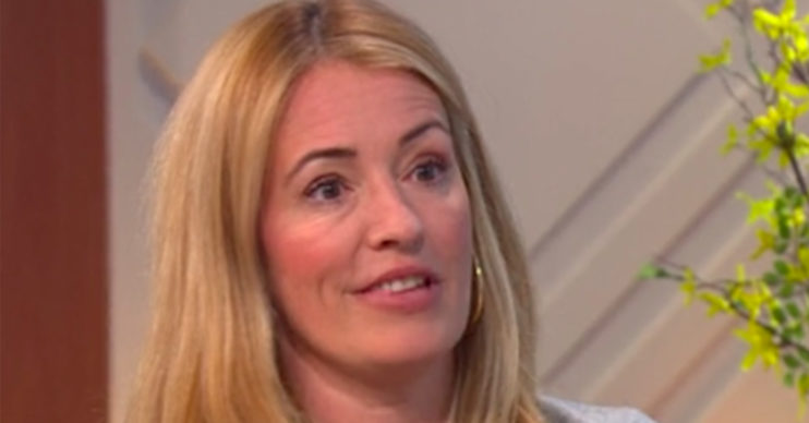 cat deeley on lorraine criticism trolls