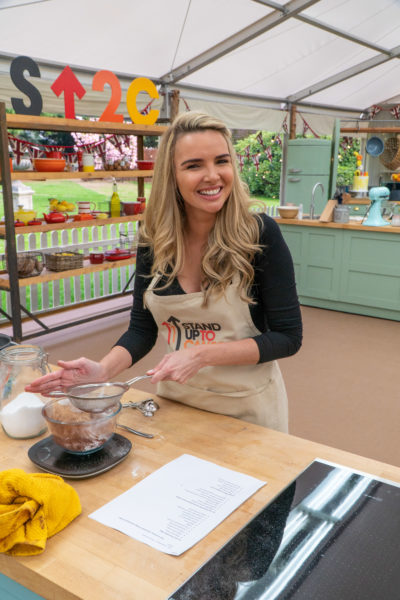 Nadine Coyle Great British Bake Off