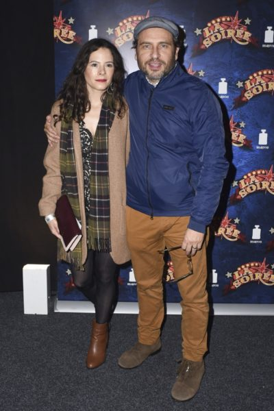 Elaine Cassidy and husband Stephen Lord