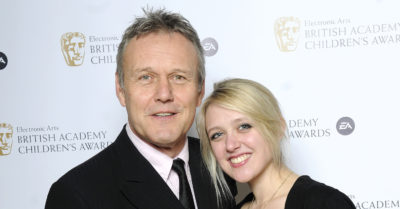 emily head with her father anthony head