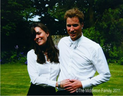 Will and Kate on their graduation day in 2005