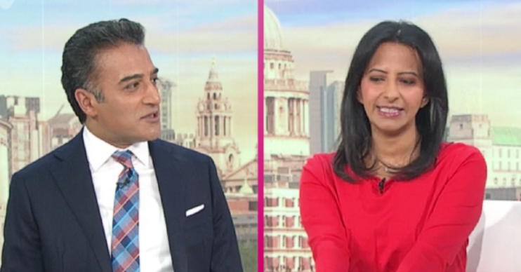 Adil Ray and Ranvir Singh on GMB