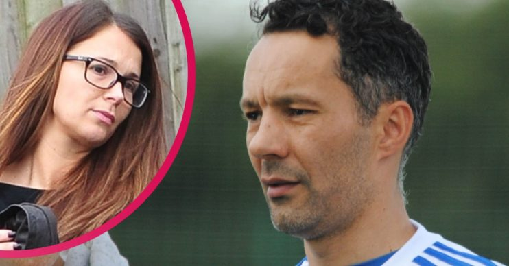 Rhodri Giggs and ex wife Natasha Lever