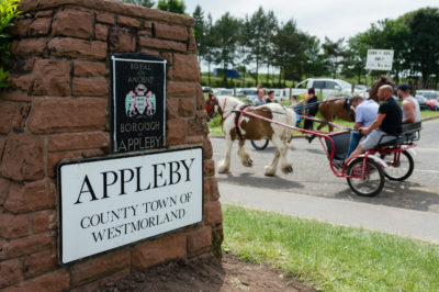 Appleby in Cumbria is the location of the annual festival (Credit: WittWoo/Cover Images)