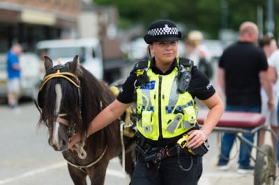 Appleby Horse Fair takes place in Cumbria every year (Credit: WittWoo/Cover Images)