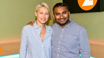 Emma Willis and Amol Rajan (Credit: BBC Radio Two)