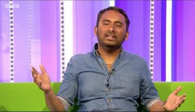 AMOL RAJAN on The One Show
