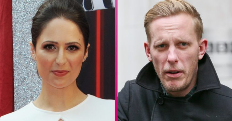 Laurence Fox and Nicola Thorp