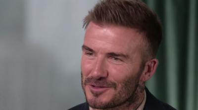 David Beckham pays tribute to Prince Harry