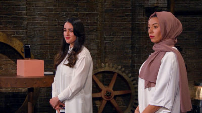 Gina and Hawaa on Dragons' Den