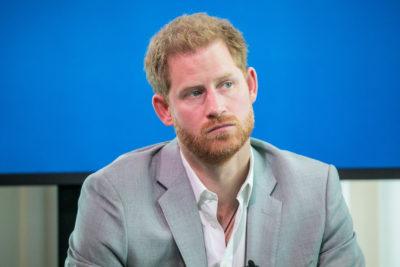 prince harry looking sad