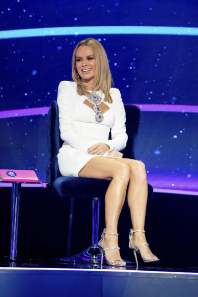 Amanda Holden on I Can See Your Voice
