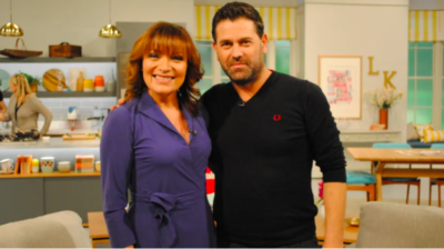 Patrick appeared on Lorraine to discuss his role in Stella (Credit: ITV1)