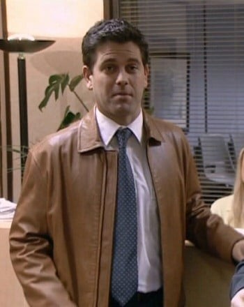 Patrick as Neil Godwin in The BBC` hit comedy series The Office (Credit: BBC One)