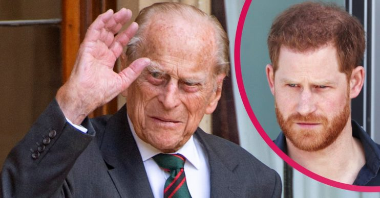 prince philip dead prince harry