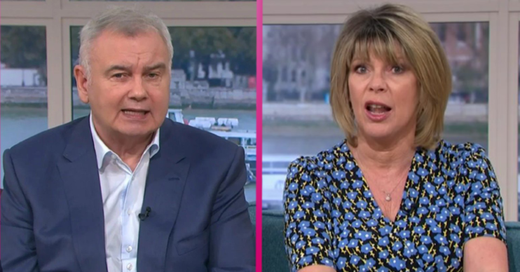 ruth Langsford this morning