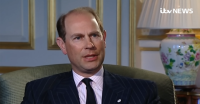 Prince Edward speaking about Prince Philip death