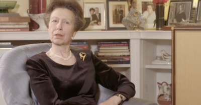 Princess Anne speaks about Prince Philip